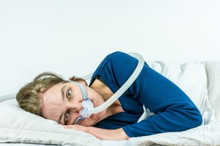 Monkton patient can't sleep due to CPAP noise.
